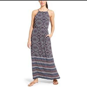 Athleta Island Life Bohemian Maxi Dress    Size: L